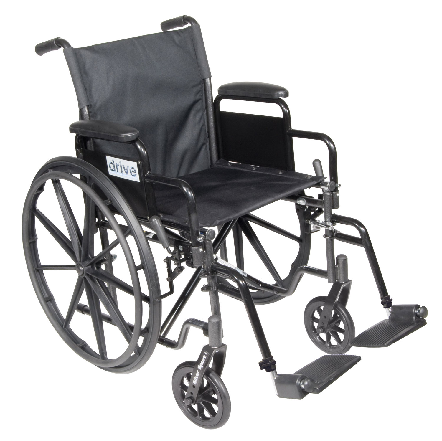 Wheelchair 18 Silver Sport